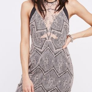 Free People Nothing Like This Lace Minidress